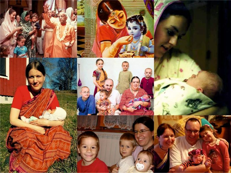 KRSNA CONSCIOUS MOTHERHOOD